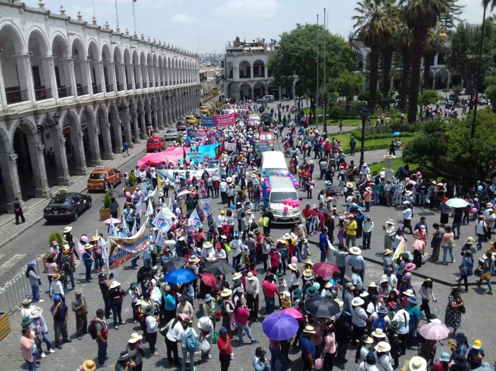 marcha Arequipa