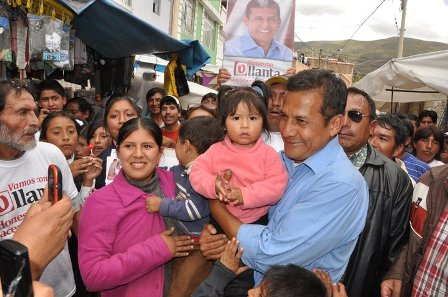 Ollanta-Humala, (Archivo fotográfico)