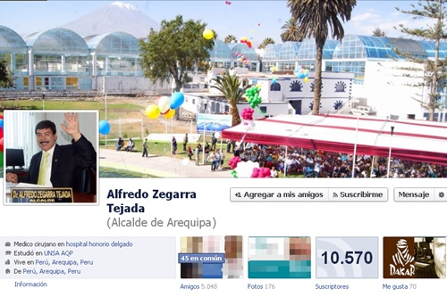 facebook alfredo zegarra
