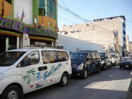 minivan transporte