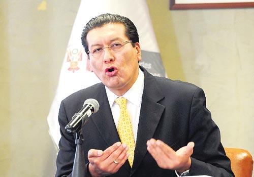 Ministro Carlos Paredes
