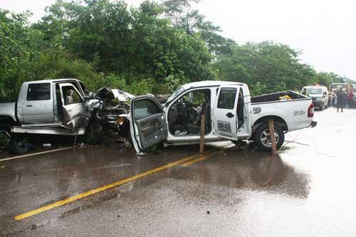 Las camionetas son los vehículos que registraron más accidentes. (foto referencial)