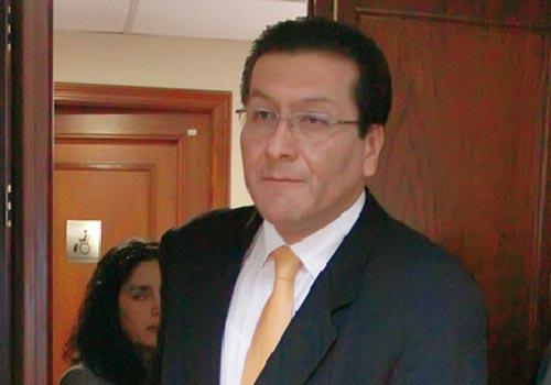 Carlos Paredes, ministro de Transportes