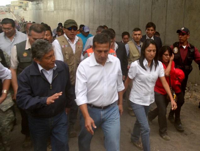Ollanta en Arequipa