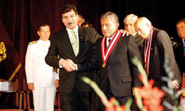 Alfredo Zegarra y Juan Manuel GUillén.
