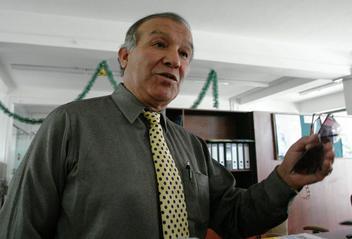 Marcos Hinojosa, gerente de Transporte.