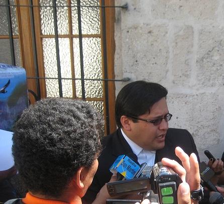 Jorge Luis Aguilar, gerente general GRA.