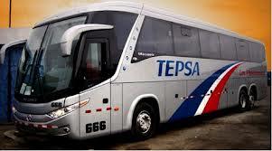 Tepsa ofrece nueva ruta con buses de un solo piso.