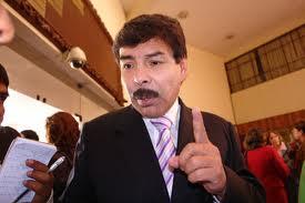 Alfredo Zegarra, alcalde provincial de Arequipa.
