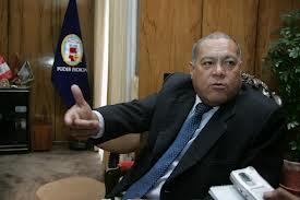 Benito Paredes, presidente de la Corte de Justicia de Arequipa