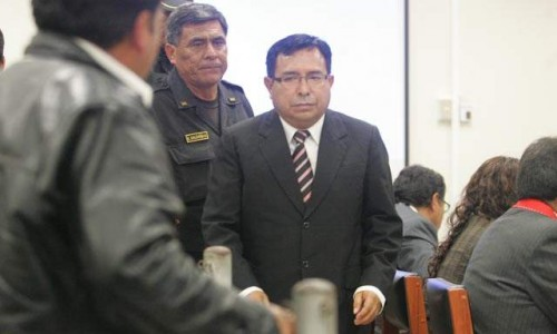 Suspendido juez Eloy Orozco Vega (foto La República)