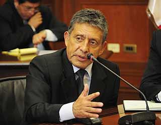 Juan Manuel Guillén, presidente regional de Arequipa