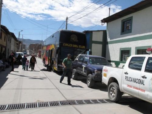 Bus de Empresa cruz del Sur fue asaltado