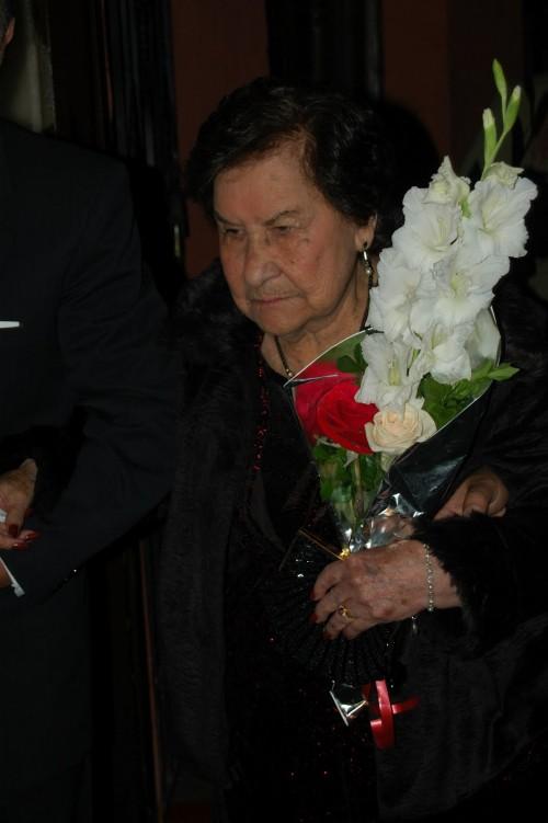 Centenaria Andreína Rivera