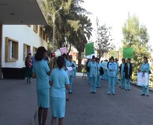 huelga enfermeras