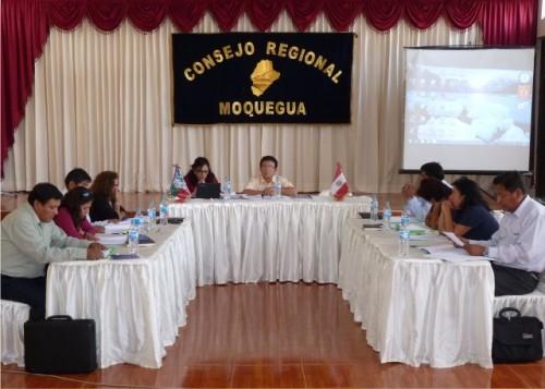 Consejo Regional de Moquegua
