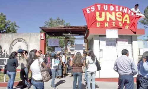 Huelga comensales UNSA