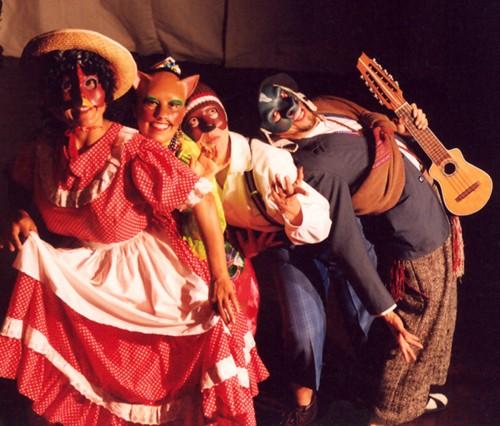 Los Musicos Ambulantes (Archivo Yuyachkani)