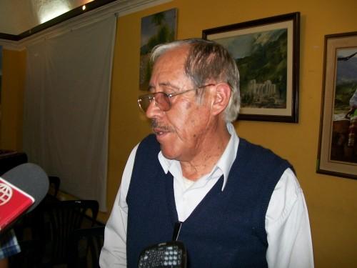 Teodosio Begazo Maica, alcalde de Tuti