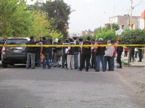 balacera en Arequipa