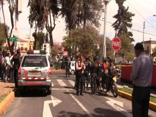 balacera en Vallecito-Arequipa
