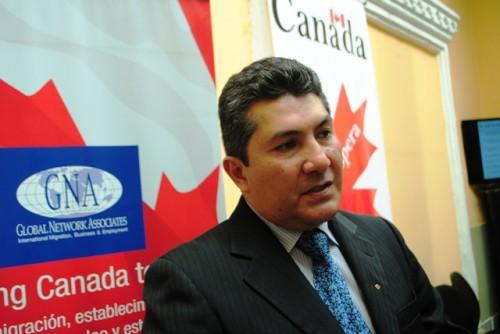 Helbert Márquez, gerente manager de la empresa Global Network Associates