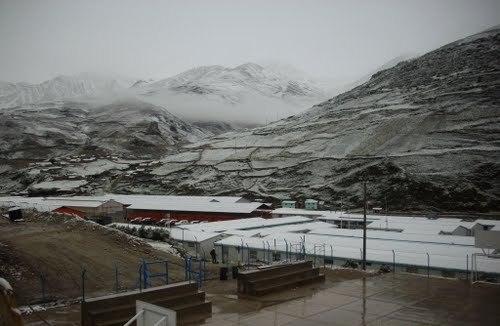 Campamento minero Las Bambas