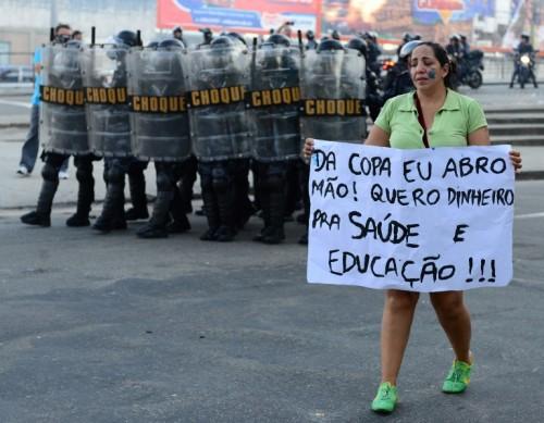 """""""Quiero dinero para salud y educación"""""""