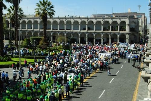 Huelga de trabajadores estatales (1)