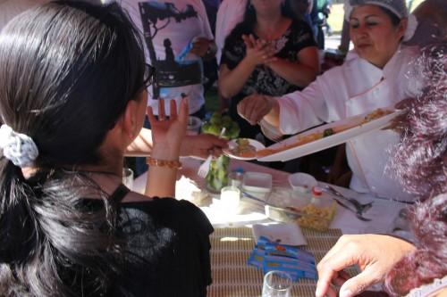Muchos asistentes al festival alcanzaron a comer ceviche pero pagaron entrada