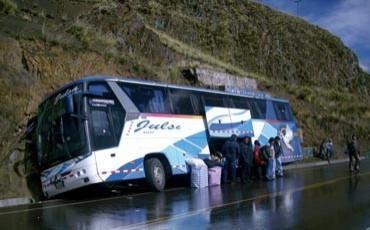 Accidente dejó 17 heridos (Foto referencial)