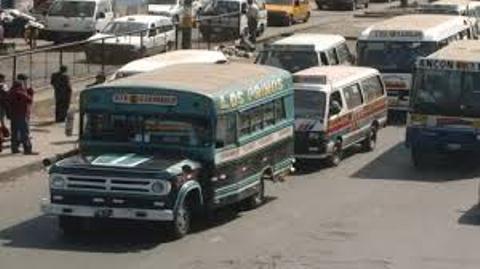 prohiben circulación de buses de servicio público con mas de 20 años