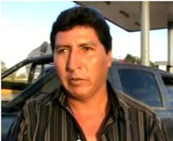 alcalde fuga con camioneta municipal
