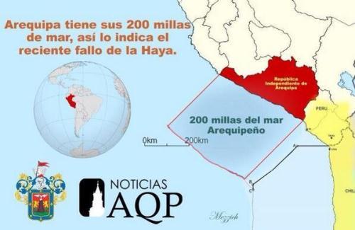 litoral arequipeño tienen 200 millas como zona económica exclusiva