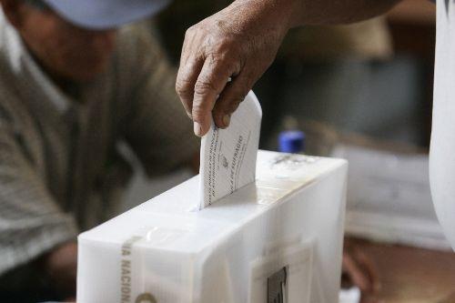 publican cronograma elecciones regionales y municipales 2014