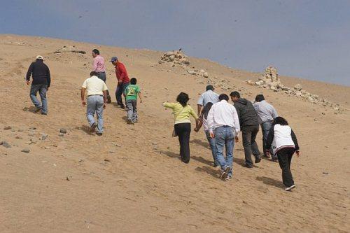 alertan sobre invasiones en terrenos de proyecto majes
