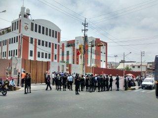 huelga trabajadores de transportes
