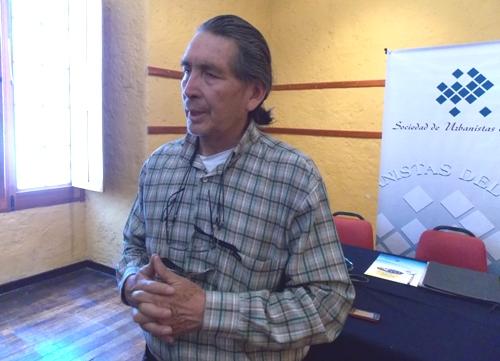 Arquitecto Manuel Chacón Villalba, de la Sociedad de Urbanistas