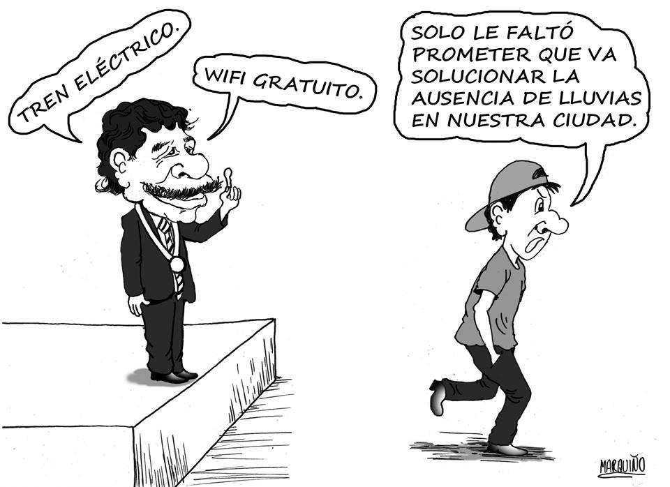 promesas caricatura