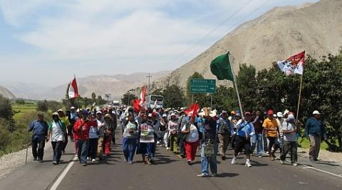 nuevas marchas contra minería