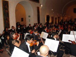 Conciertos musicales todos los jueves del año 2017 en la UNSA