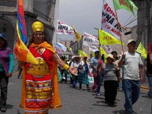 marcha de protesta