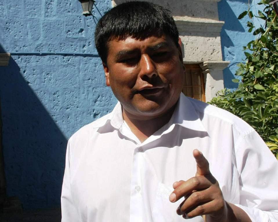 alcalde de Quequeña