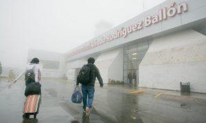 Vuelos cancelados en aeropuerto Rodríguez Ballón por densa neblina
