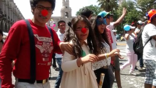 escolares de Arequipa
