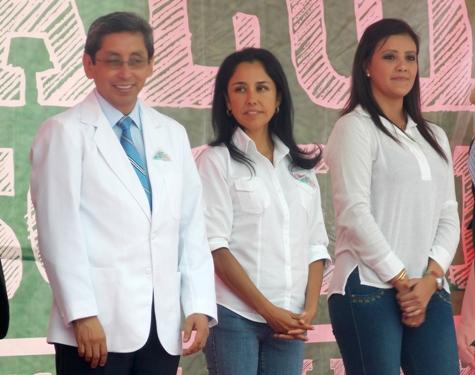 Anibal Vásquez y Yamila Osorio
