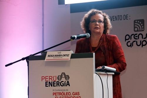 ministra de Energía y Minas