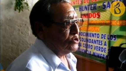 Agricultores denuncian contaminación causada por Cerro Verde