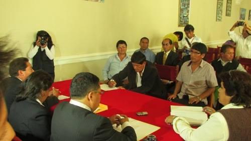 dirigentes firman