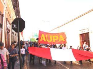 Tía María: urbanizaciones populares marchan en  apoyo al valle de Tambo